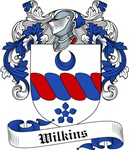 Wilkins Family Crest, Coat of Arms