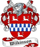 Wilkinson Family Crest, Coat of Arms