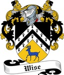 Wise Family Crest, Coat of Arms