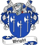 Wright Family Crest, Coat of Arms