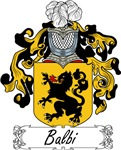 Balbi Family Crest, Coat of Arms