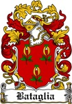 Bataglia Family Crest, Coat of Arms