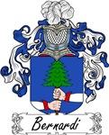 Bernardi Family Crest, Coat of Arms