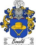 Bonaldi Family Crest, Coat of Arms