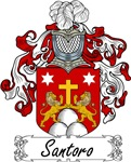 Santoro Family Crest, Coat of Arms