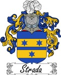 Strada Family Crest, Coat of Arms