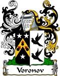 Voronov Family Crest, Coat of Arms