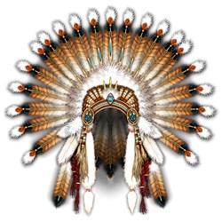 Native War Bonnet 01