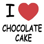 I heart chocolate cake
