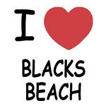 I heart blacks beach