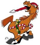 YeeHaw Christmas Horse