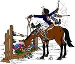 Horse at Flower Box