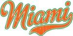 Miami Script Orange VINTAGE