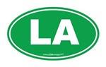 Louisiana LA Euro Oval GREEN