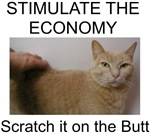 Scratch the Economy on the Butt T-shirts