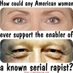 Hillary: Rape Enabler