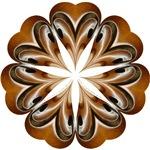 F-hole kaleidoscopic mandala