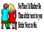 Sittin' next to you