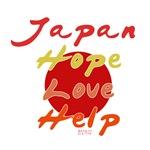 JAPAN HOPE LOVE HELP