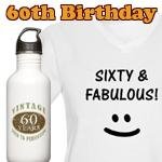 60th Birthday Gag Gifts