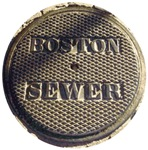 Boston Sewer Cover