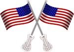 American Flag Lacrosse
