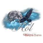 Team Kol The Vampire Diaries Raven Moon Blue Cloud