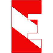 Scuba Flag Letter E