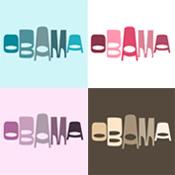 Funky Obama Ovals