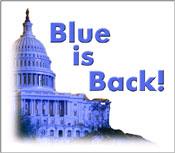 """Blue is Back!"""