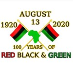 The Red, Black and Green Centennial Commemorative