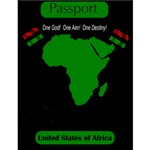 The United States of Africa Passport