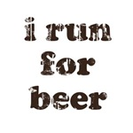 I run for beer