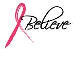 pink ribbon believe