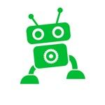 Green Baby Robot