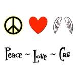 Peace - Love - Cas