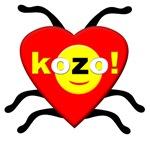 Red kozo! Lovebug