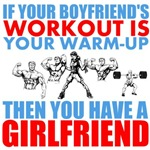 If your boyfriend's workout is your warm-up, then