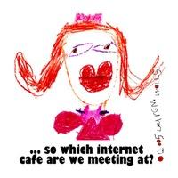 Internet Cafes; great date wear