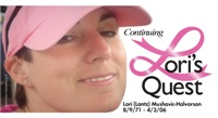 Lori's Quest 1 Personalized Breast Cancer T-shirts