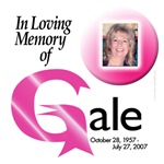 Gale's Personalized Breast Cancer Gifts