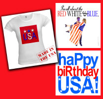 Independence Day 4th of July T shirts USA