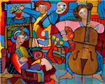 Painting In D Minor