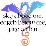 Sky above me...