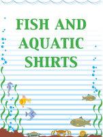 Fish and Aquatic Shirts