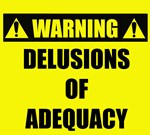 Warning Delusions of Adequacy