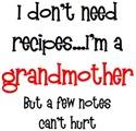 Who Needs Recipes?
