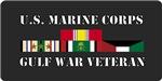 Gulf War All Branch License Plates/Mugs