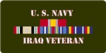 Iraq Campaign Veteran License Plate/Mugs