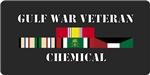 Army Gulf War Chemical Units License Plates/Mugs/S